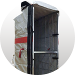 THERMAL COVER (REDUCED-WEIGHT) FOR FOODSTUFF TRANSPORTATION (TCL) 1770*800*610