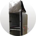 THERMAL COVER (STANDARD) FOR FOOD STAFF TRANSPORTATION (TCS) 1770*800*610